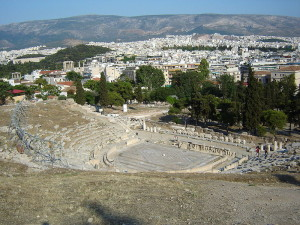 Dionysos Theatre in Athens