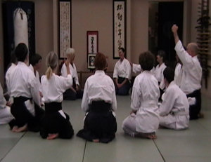 The Aikido family after a class.
