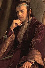 Elrond (Hugo Weaving) from Peter Jackson's Lord of the Rings trilogy