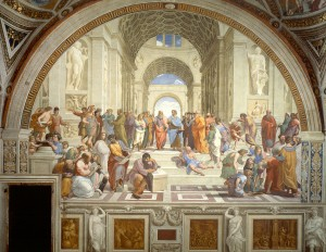 The School of Athens. 16th Century. Raphael.